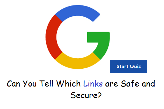 Google Safe Page Quiz