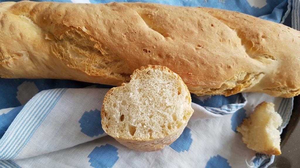 recette facile de baguette de pain maison