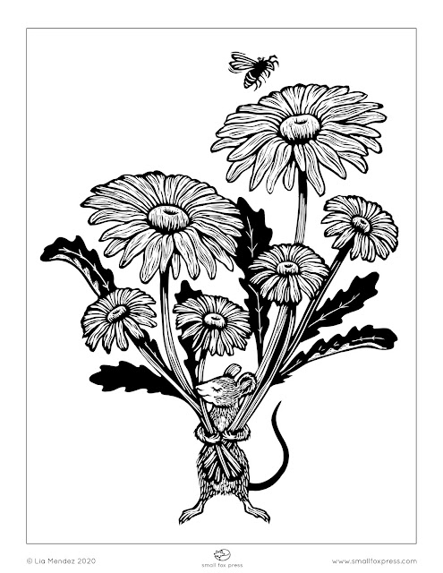 Free Printable March Coloring Pages for Kids | 640x495