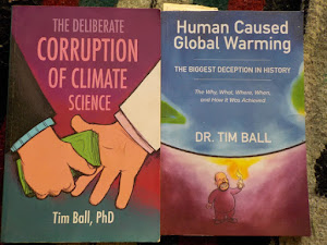 Dr. Tim Ball - must-read books you need!