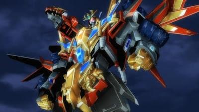 SSSS.DYNAZENON - Super Dragon King Kaiser Gridknight Debut