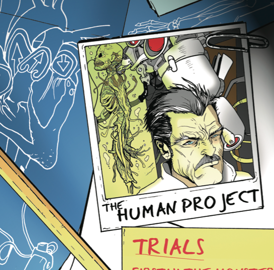 <center>The Human Project - Trials (2011)</center>
