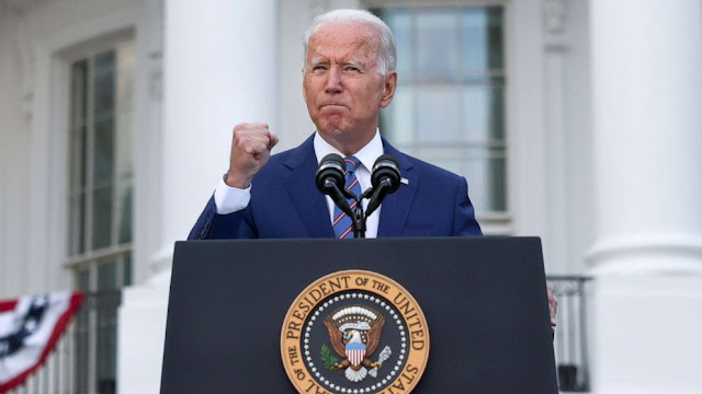 Free America from Corona, controversy surrounding Biden's announcement on Independence Day
