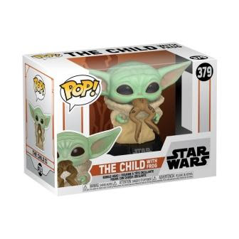 Funko Pops The Child with frog ©Disney