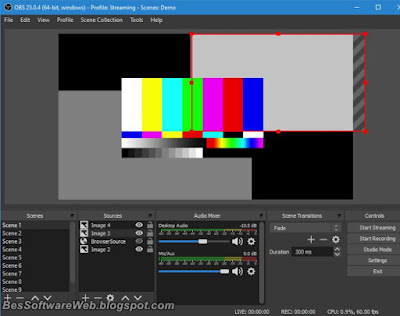 Live Streaming with OBS Studio 25.0.8 Download Free for Windows