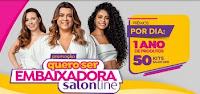 Como ser embaixadora Salonline com a Preta Gil queroserembaixadora.com.br