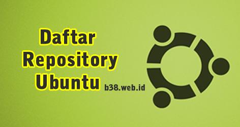 Daftar Lengkap Repository Lokal Ubuntu