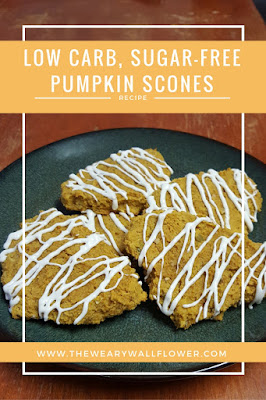 fall baking pumpkin scones