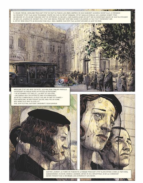 Couleurs de l'incendie de Pierre Lemaitre et Christian De Metter aux éditions Rue de Sèvres page 9