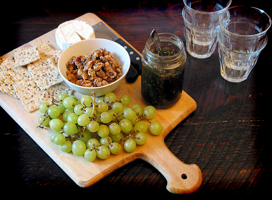 this cheese board appetizer has a little something for everyone