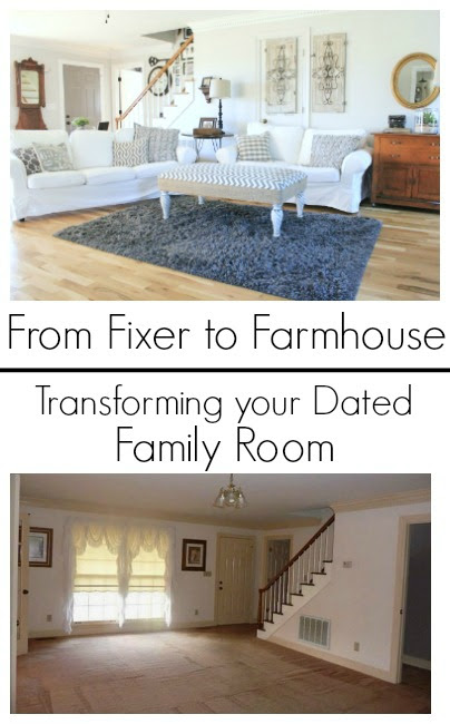 Family Room Reveal Day is Here!