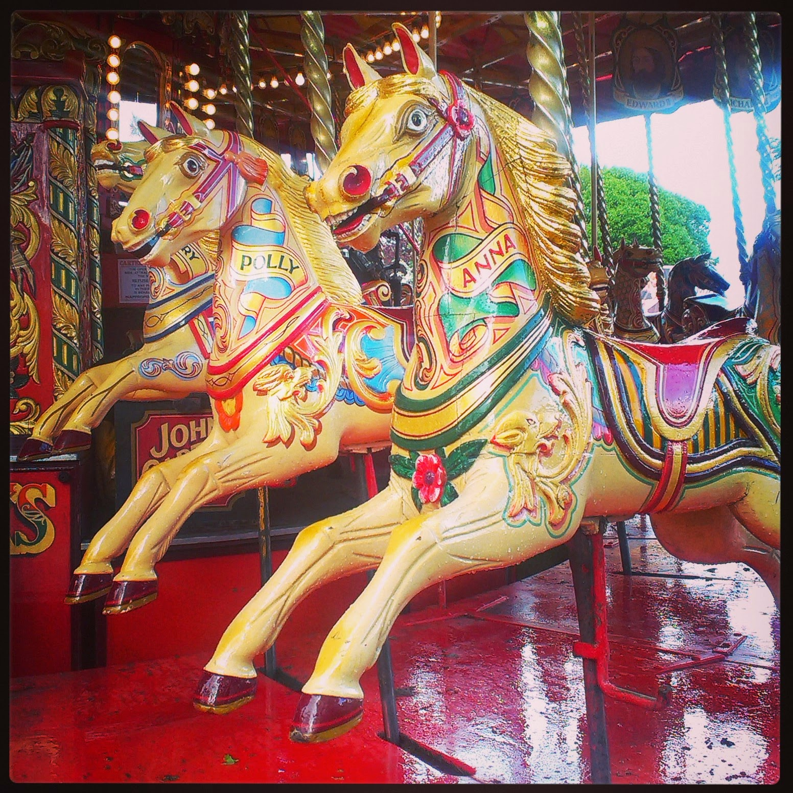 Carters Steam Fair Gallopers