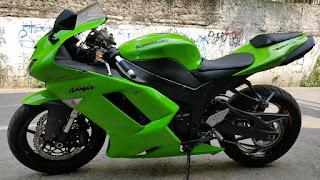 BURSA MOGE BEKAS : Dijual Moge ZX6R Kawasaki 2007 - LUMAJANG