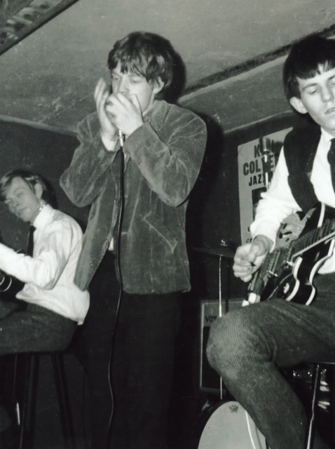 Rare Photos of The Rolling Stones on the Stage in 196263  vintage everyday