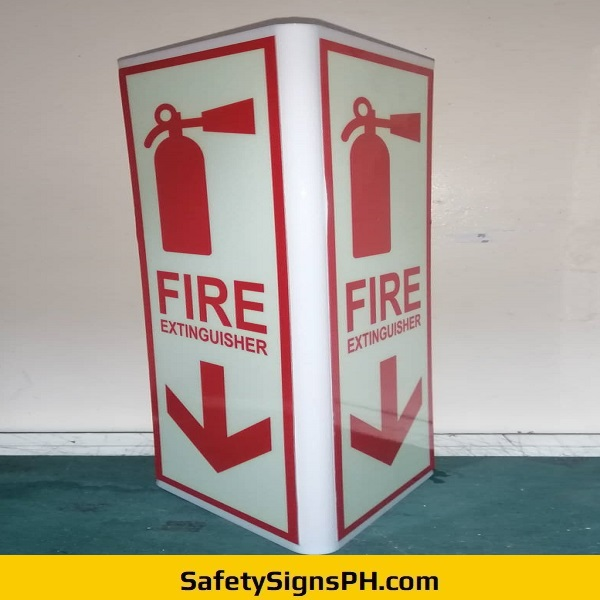 Toblerone Fire Extinguisher Sign Philippines