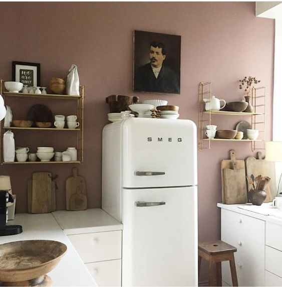 The best Pink rooms and wall color, what pink color to paint, Farrow And Ball Pink, Shay Mitchell House