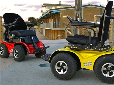 Accesstr enjoy beautiful scenery of nature with all for All terrain motorized wheelchairs