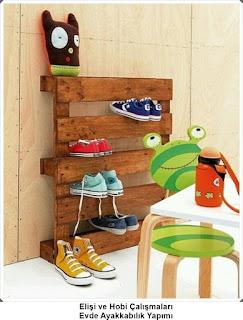 Dekorasyon - Ayakkabılık Modelleri 4