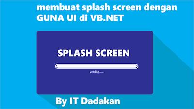 splash secreen VB.NET