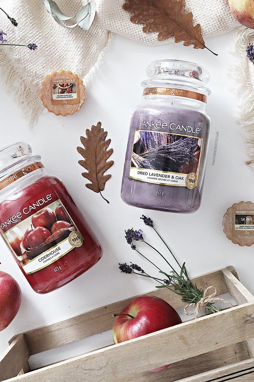 yankee candle dried lavender and oak nowość na jesień 2019 recenzja blog