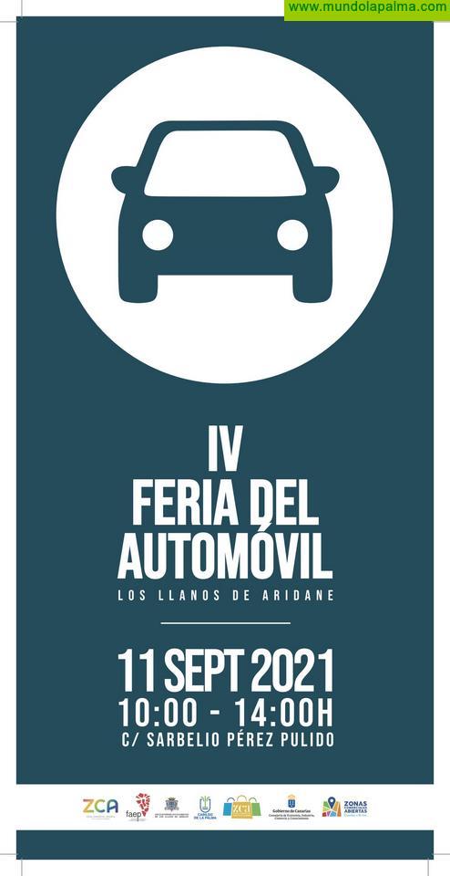 """La Zona Comercial Abierta de Los Llanos de Aridane celebra este próximo 11 de septiembre la """"IV Feria del Automóvil"""""""