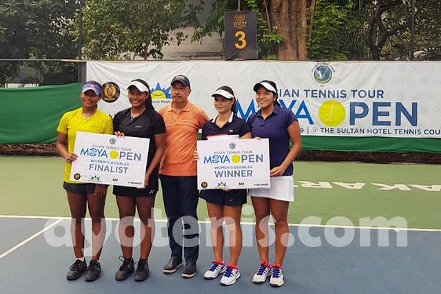Moya Open: Menangi Final Ideal, Bea/Eci Sabet Gelar Juara