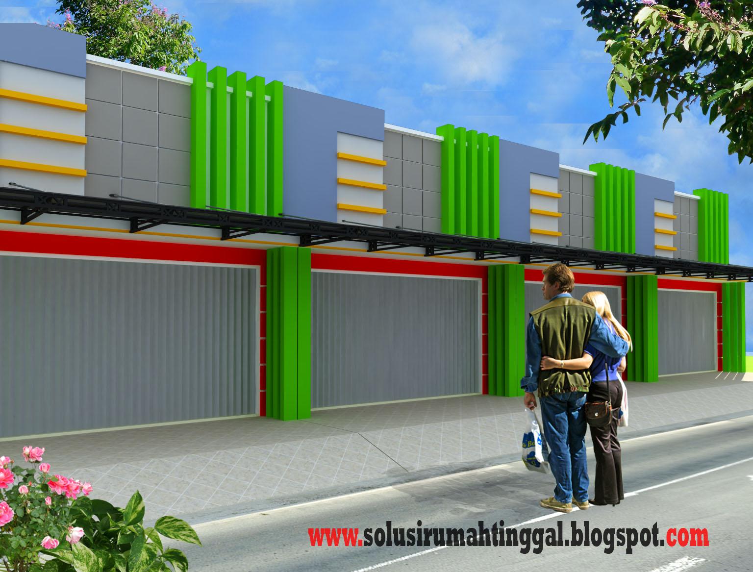 Model Rumah Ruko Minimalis 1 Lantai Desain Rumah Minimalis
