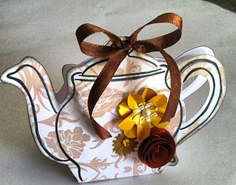 Teapot Shaped Box
