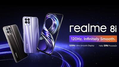 هاتف Realme 8i - ريلمى 8 إي