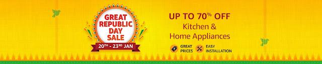 Offer : Get upto 70% off on Kitchen & Home Appliances