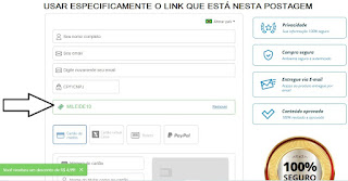 COMO COLOCAR O CUPOM DE DESCONTO CICLO EARA EBOOK  PDF -  DOWNLOAD - E-book para concursos públicos