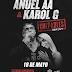 """ANUEL AA Y KAROL G LLEGAN AL ESTADIO QUISQUEYA EL PRÓXIMO 18 DE MAYO  CON LA GIRA """"CULPABLES TOUR 2019"""""""
