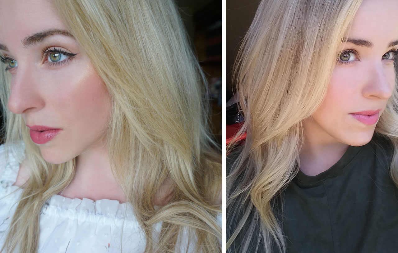 Monroe Misfit Makeup Beauty Blog Sunin Natural Hair Highlights