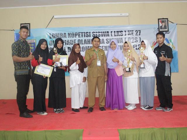Lomba Keterampilan Siswa (LKS) Kabupaten Pringsewu 2018