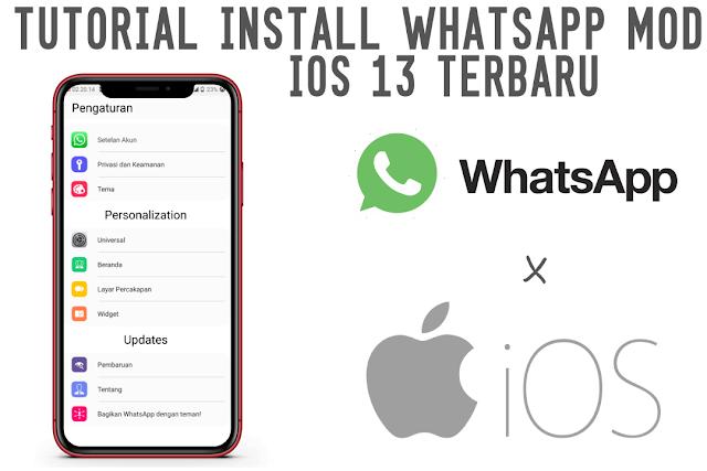 Cara Install Whatsapp Mod iOS di Jamin Berhasil