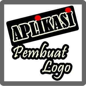ilustrasi tulisan aplikasi pembuat logo