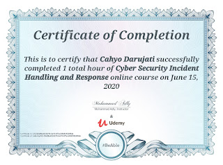 Cyber Security Incident Handling and Response.