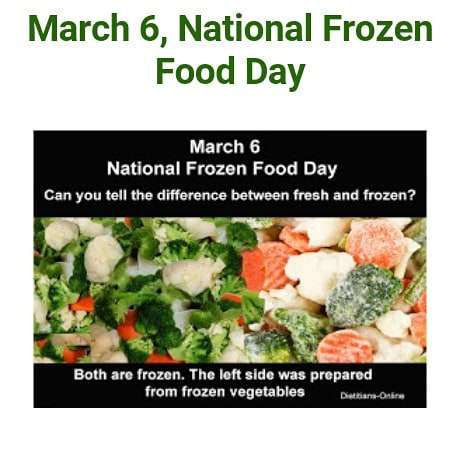 National Frozen Food Day Wishes Awesome Picture