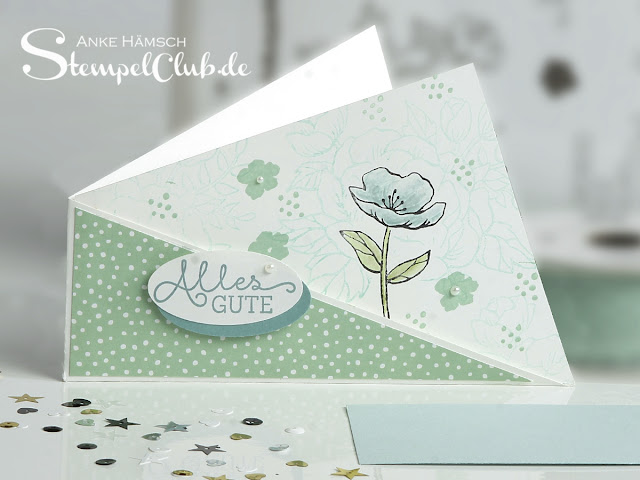 Twistcard, Stempelclub, gestempelt, Geburtstagsblumen, Birthdayblooms, Stampin up