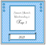 Top 3 at Sweet Sketch Wednesday