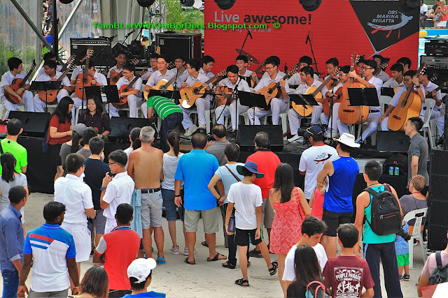 Musical performance, DBS Marina Regatta, Singapore