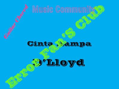 Chord Gitar Cinta Hampa | D'Lloyd