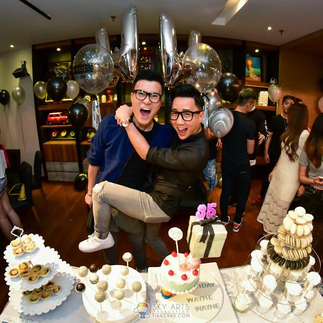 Wayne's Birthday Party @ Walnut Cafe & Bar   Puchong