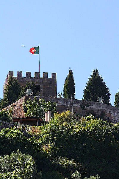 The 12th-century castle in Lamego, Portugal. Photo: WikiMedia.org.