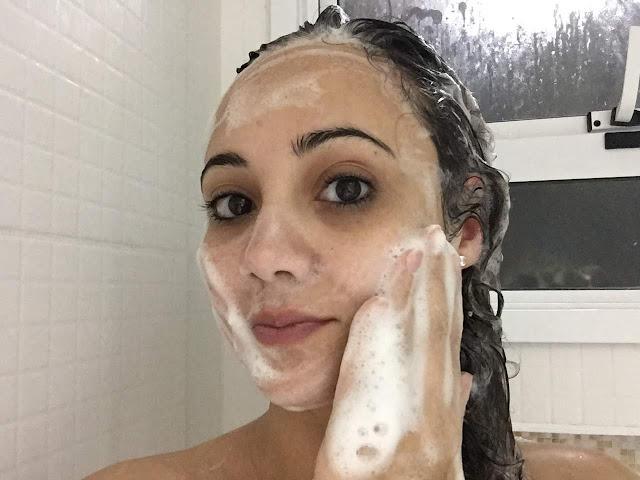 shampoo vitay spa cabelo e rosto demaquilante embelleze resenha pabline