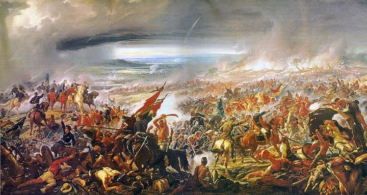 A Batalha do Avaí - Pedro Américo - Brasileiro