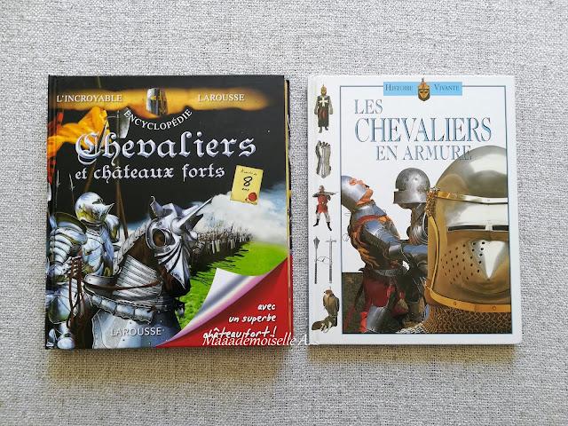 || Sélection de livres sur l'Histoire - Chevaliers et châteaux forts - Les chevaliers en armure