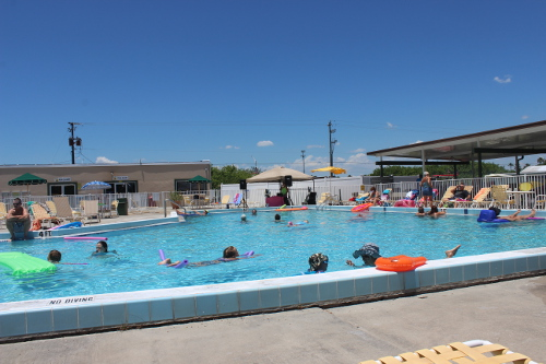 Kids Pool @ Lake Okeechobee KOA