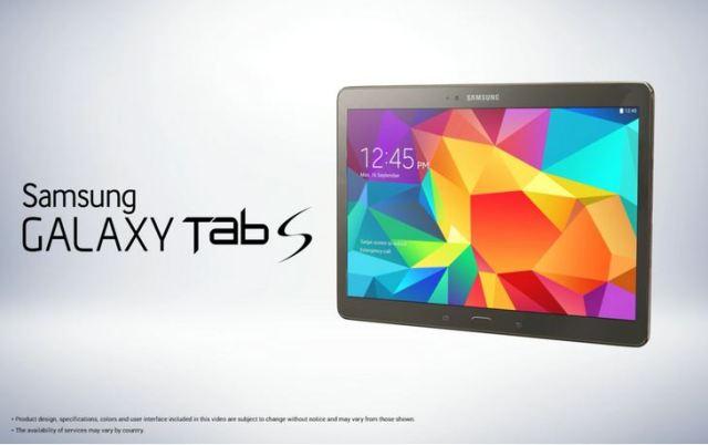 Ini Fitur Lengkap dan Spesifikasi Samsung Galaxy Tab S