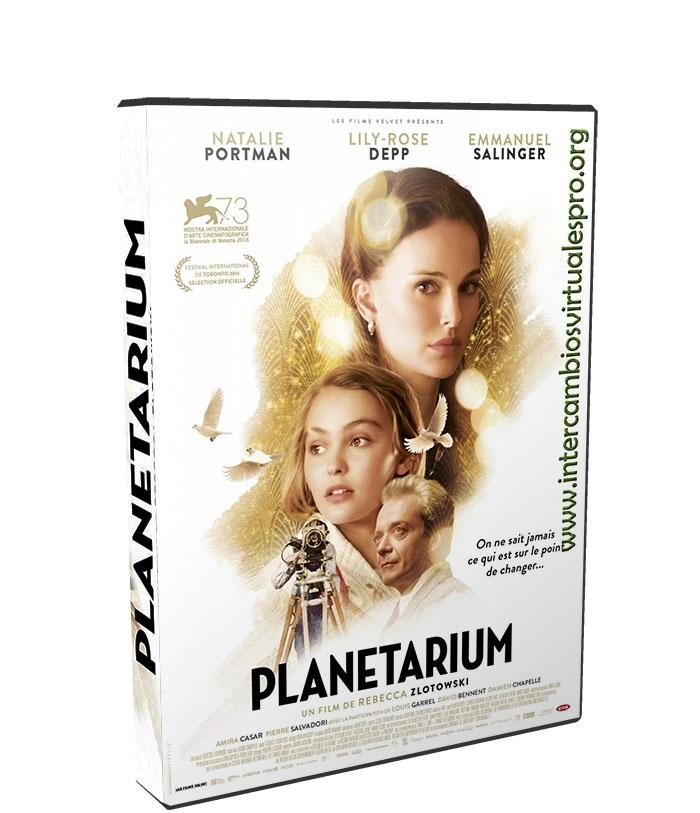 Planetarium poster box cover
